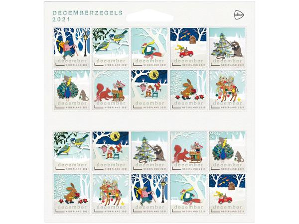 Decemberzegels Nederland 2020