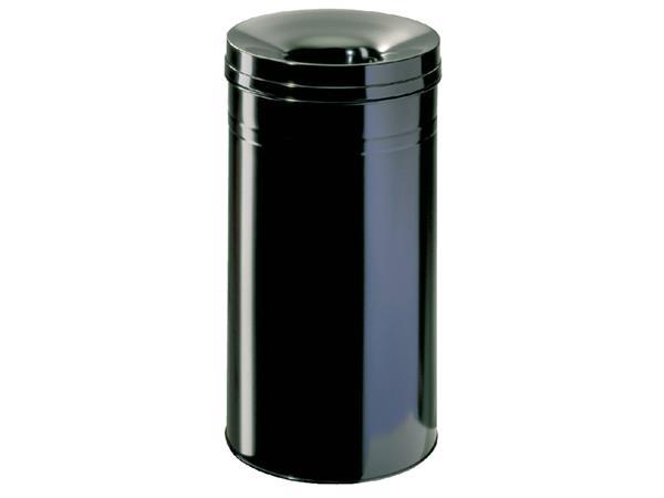 Papierbak met vlamdover Durable 3327-01 60liter zwart