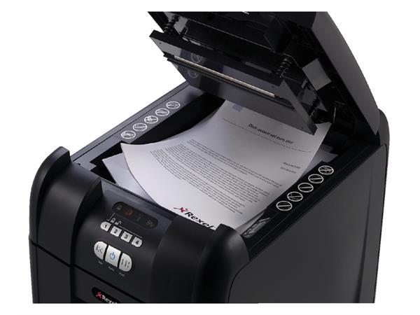 Papiervernietiger Rexel auto+ 300m snippers 2x15mm