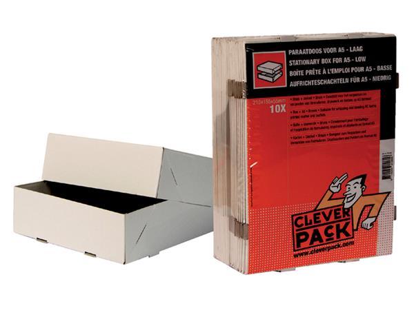PARAATDOOS CLEVERPACK A5 500V 218X155X55MM WIT
