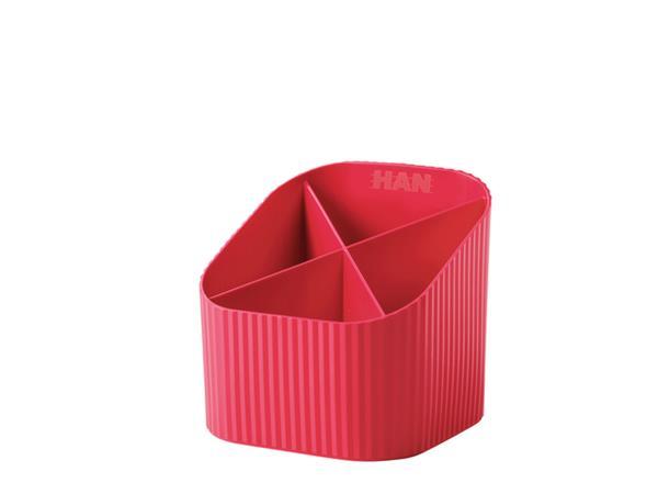 Pennenkoker Han Re-LOOP 4-vaks rood
