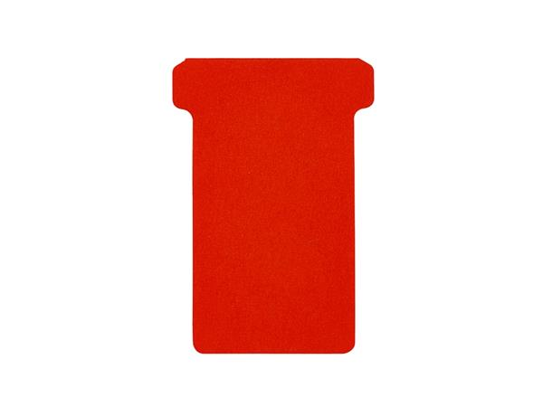 Planbord T-kaart A5548-222 48mm rood