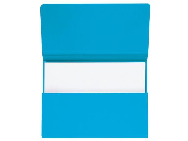 Pocketmap Secolor A4 270gr blauw