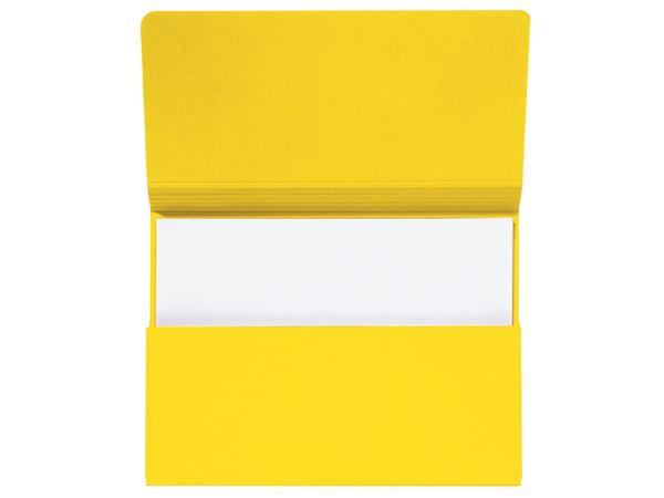 Pocketmap Jalema Secolor folio geel