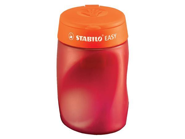 Puntenslijper STABILO Easy 4502 3 in 1 rechtshandig oranje