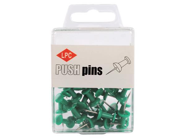 Push pins LPC 40stuks groen