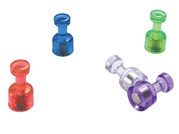 Push pins Oic super magnetisch assorti
