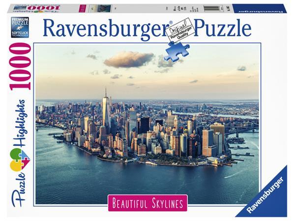 PUZZEL RAVENSBURGER NEW YORK 1000 STUKJES
