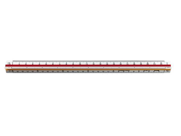 Reductieschaalstok rOtring driekantig architect 50cm