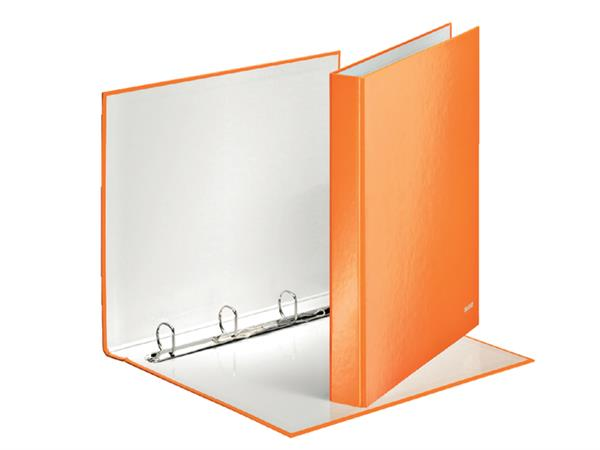 RINGBAND LEITZ WOW 4242 4RINGS A4 25MM ORANJE