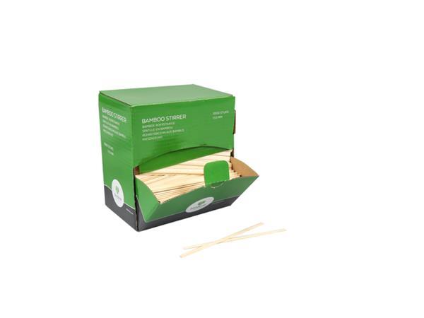 roerstaafje biodore bamboe 11cm 1000 stuks