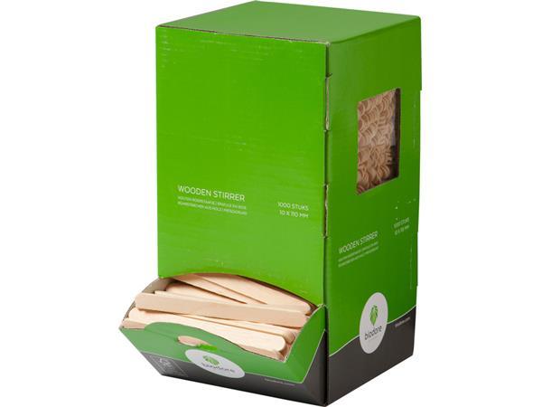 roerstaafje biodore hout 11cm 1000 stuks