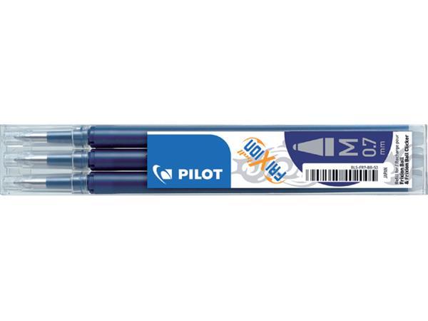 Rollerpenvulling PILOT Frixion blauw/zwart 0.35mm