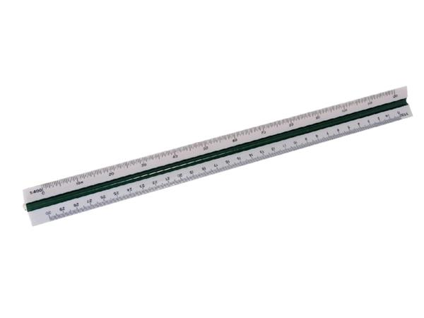 Schaalstok M+R 1632 1:100/200/250/300/400/500