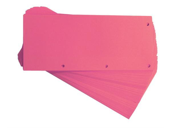 Scheidingsstrook Oxford duo 240x105mm roze
