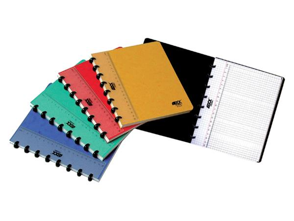 Schrift Adoc Classic A5 ruit 5x5mm 144blz 90gr assorti