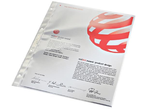 Pochette Leitz 474 PVC 008mm Lisse
