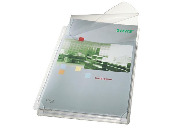 Showtas Leitz 11-gaats PVC 0.17mm glad met klep