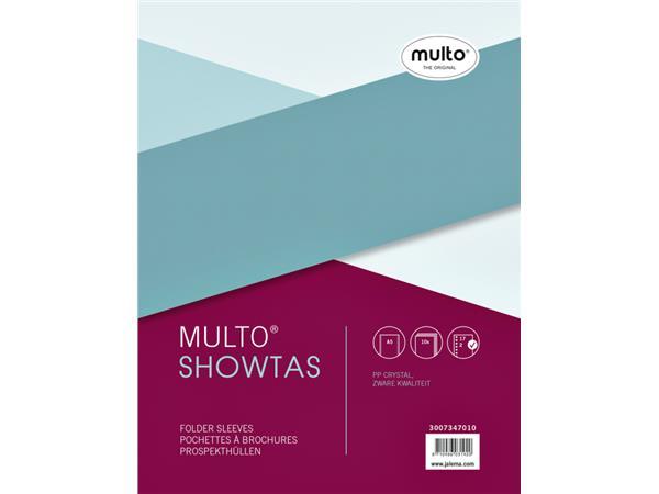 Showtas Multo 17-gaats PP 0.14mm glad
