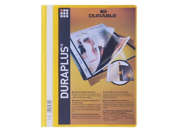 Snelhechter Durable Duraplus 2579 geel