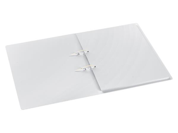 Snelhechter Stripbinder Avanti A4 2 strips wit transparant
