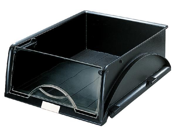 Sorteerbak Leitz 5231 Sorty met klep zwart