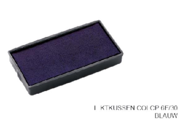 INKTKUSSEN COLOP 6E/30 BLAUW