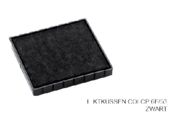 Stempelkussen Colop 6E/53 zwart