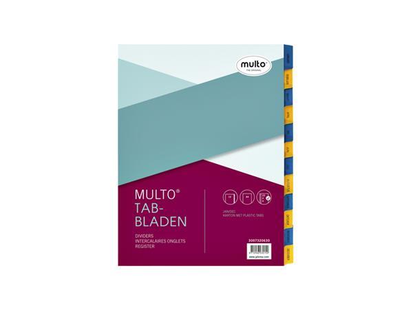 TABBLADEN MULTO 7320630 A4 23R KARTON JAN-DEC CH