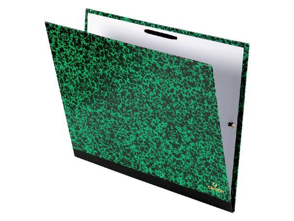 Tekenmap Canson studio 47x62cm 2 elastieken groen