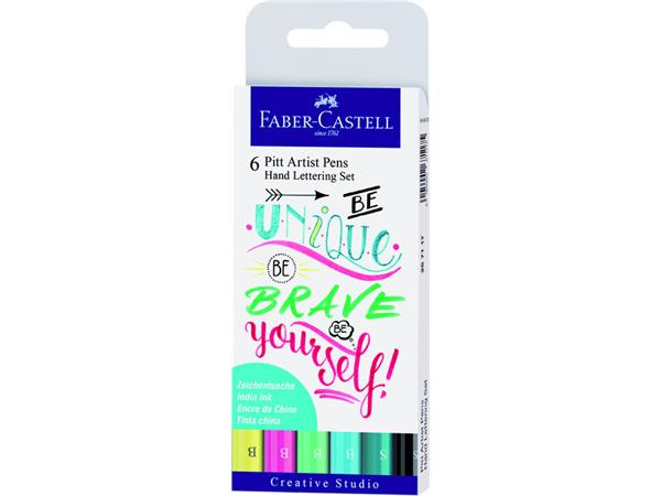Tekenstift Faber Castell Pitt Artist handlettering brave