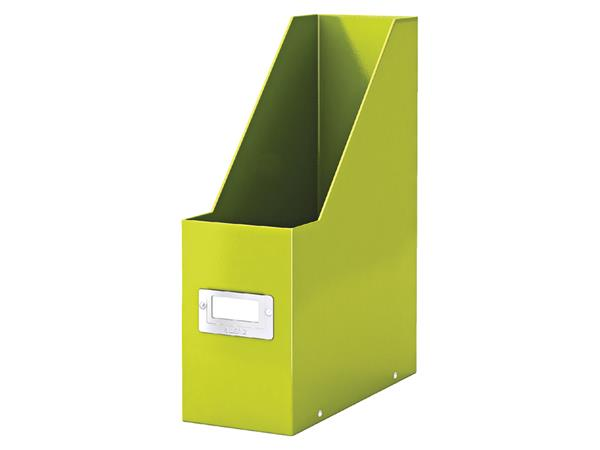 Tijdschriftcassette Leitz WOW Click & Store groen
