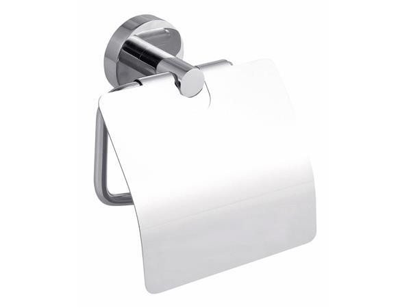 Toiletrolhouder Tesa Smooz 40315 met deksel