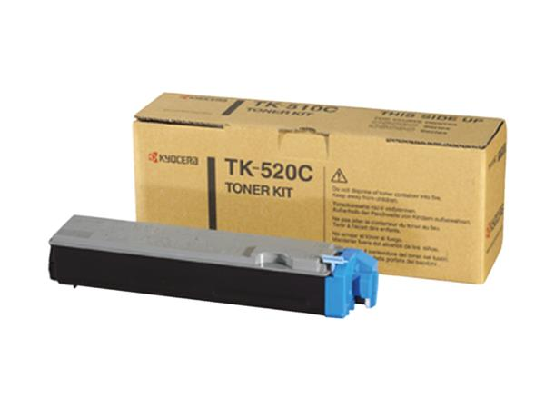 Toner Kyocera TK-520C blauw