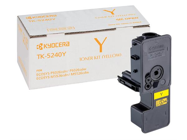 Toner Kyocera TK-5240 geel