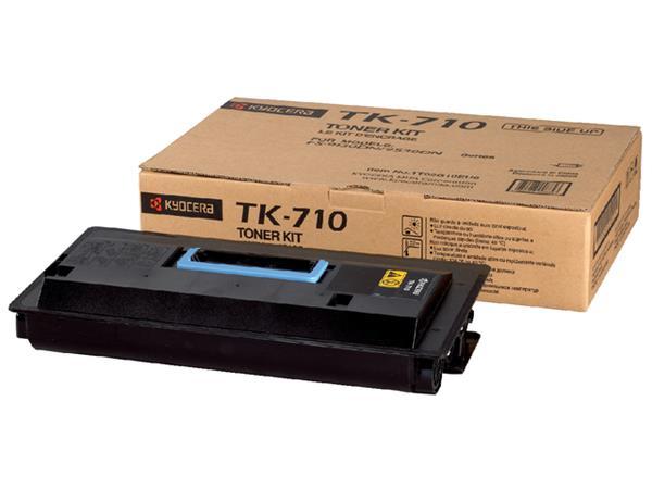 Toner Kyocera TK-710K zwart