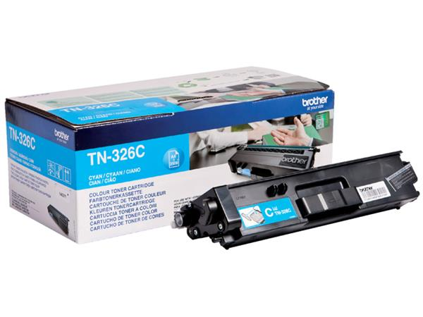 Tonercartridge Brother TN-326C blauw