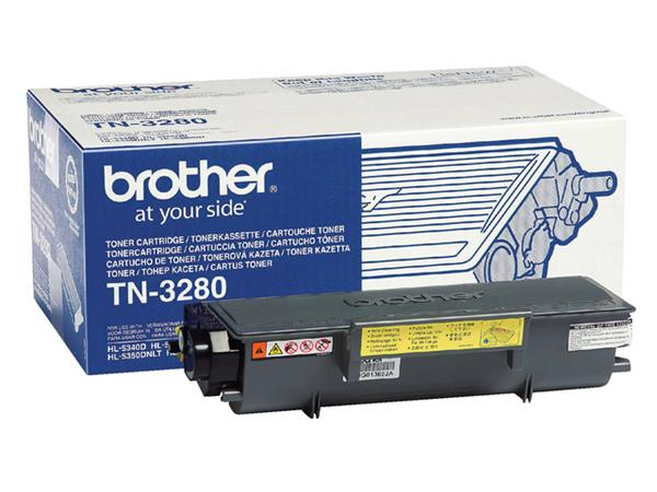 TONER BROTHER TN-3280 8K ZWART