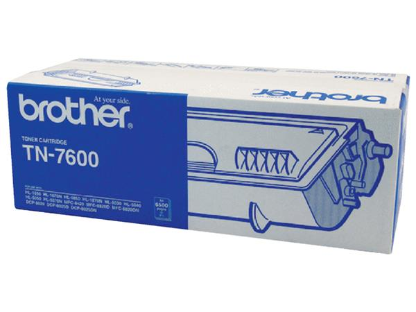 TONER BROTHER TN-7600 6.5K ZWART