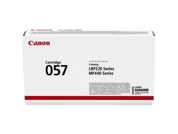 Tonercartridge Canon 057 zwart