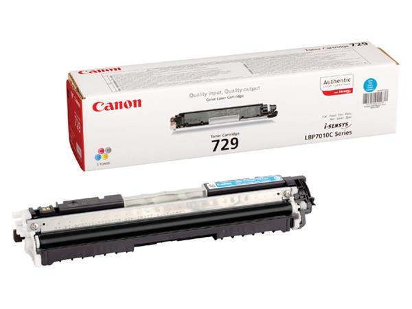 Tonercartridge Canon 729 blauw