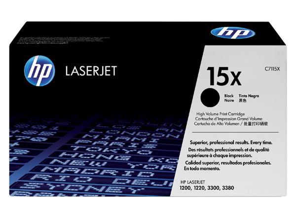 TONERCARTRIDGE HP 15X C7115X 3.5K ZWART