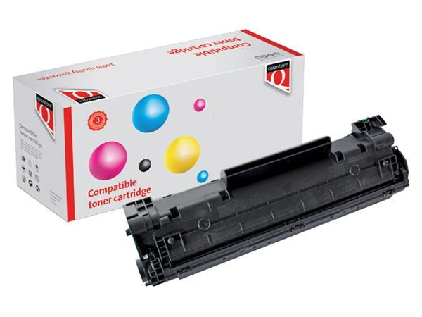 Tonercartridge Quantore HP CB436A 36A zwart