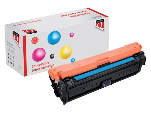 Tonercartridge Quantore HP CE341A 651A blauw