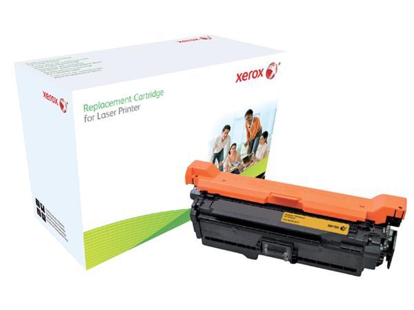TONERCARTRIDGE XEROX HP CE402A 6.8K GEEL