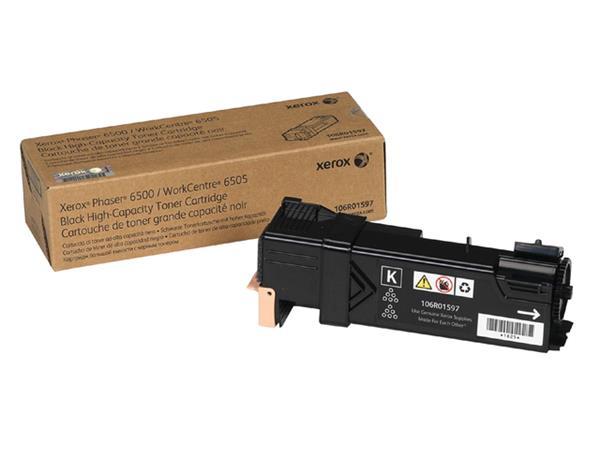 Tonercartridge Xerox 106R01597 zwart