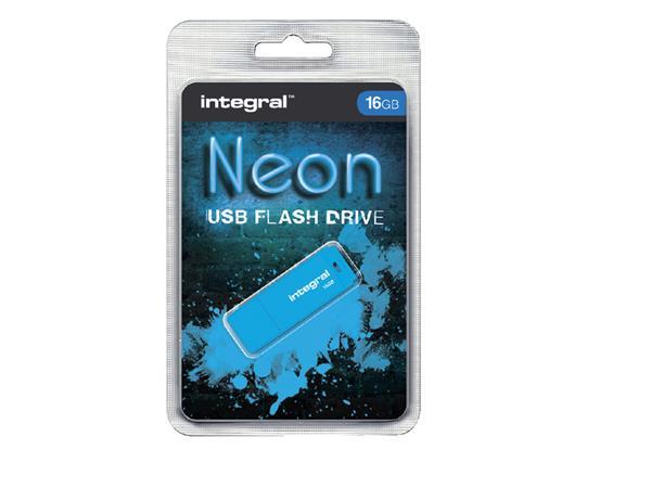 USB-STICK+INTEGRAL+FD+16GB+NEON+BLAUW