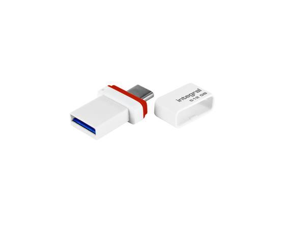 USB-STICK INTEGRAL USB-A USB-C FUSION DUAL 512GB