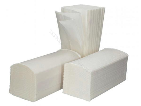 Handdoekvulling Cleaninq Z-vouw 1L voor H3 23x22cm 5000st.