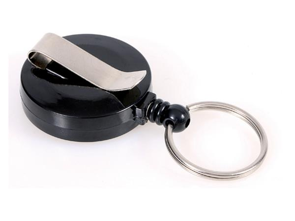 Afrolmechanisme Opus 2 sleutelring zwart